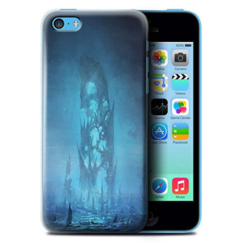 Offiziell Chris Cold Hülle / Case für Apple iPhone 5C / Pack 12pcs Muster / Fremden Welt Kosmos Kollektion Rest