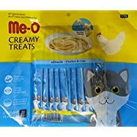 Me-0 Fins Fur and Feathers Creamy Treat Chicken and Liver -Pack of 20 Sticks