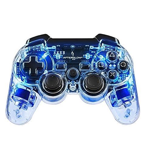 Afterglow Wireless Controller - blau (Zubehör Ps3)