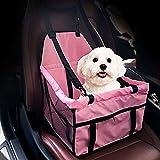 Auto Safety Sitzerhöhung Travel Tasche Cage Matte Cover Kissen mit Sicherheit Sicherheitsgurt Geschirr für Haustier Hund Puppy Katze rosa