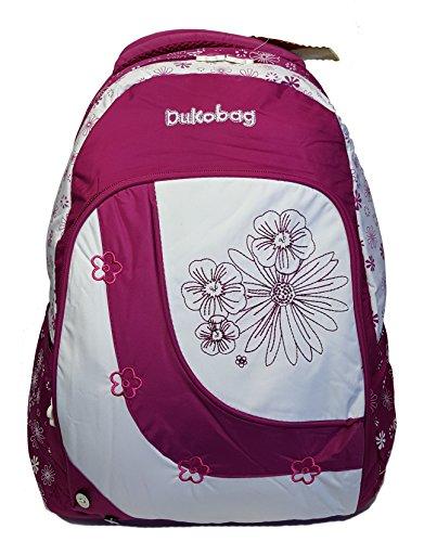 GFM Fashion , Zainetto per bambini  Uomo Donna Bambine e ragazze Bambini e ragazzi Style 1 - Floral Deep Pink (DUV060) Large