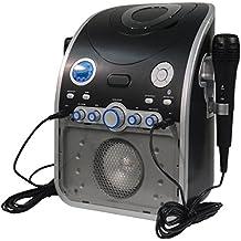 Mr Entertainer CDG Karaoke máquina con Bluetooth y parpadeo de la luz LED