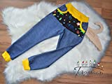 Cozy Pants Jeans Neon Dinosaurier Jersey 92-146