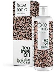 Australian Bodycare Face Tonic (150 ml) Gesichtstonic mit natürlichem Teebaumöl gegen Pickel, Mitesser und unreine Haut. Kann auch bei Akne verwendet werden. Der Gesichtstonic reinigt sensible und trockene Haut - ohne Alkohol.