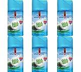 6x Fresh&More [ HIMMELSFRISCHE ] Lufterfrischer für Air wick Fresh Matic -250ml