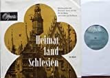 """HEIMATLAND SCHLESIEN / Glockengeläut des Breslauer Doms und der Kirche Wang und Lieder aus Schlesien / ca. 1960 / Europäischer Phonoklub / !!! genähte Bildhülle !!! / Opera # Nr.6 3922 / Deutsche Pressung / 10"""" Vinyl Langspiel Schallplatte"""