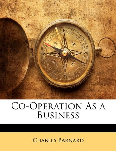 Co-Operation As a Business