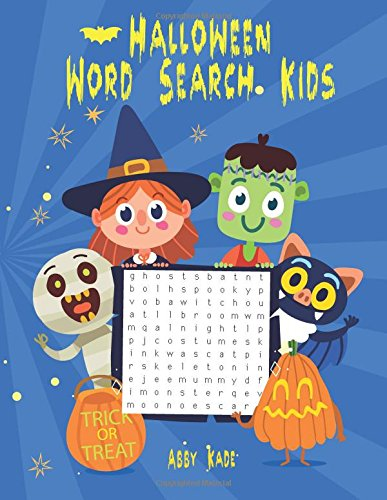 Halloween Word Search Kids: Halloween Puzzles Books (Word Search Puzzles, Band 1)