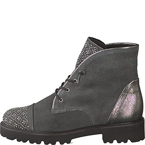 Gabor Shoes Damen Gabor Fashion Stiefel, Grau (19 Pepper/Argento), 41 EU