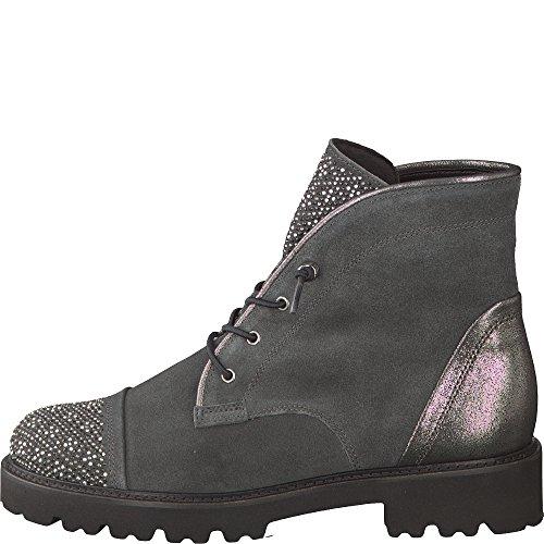 Gabor Damen Fashion Stiefel Grau