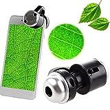 ZREAL 30X Zoom-Handy-Teleskop-Kamera LED-Mikroskop-Objektiv für iPhone Samsung