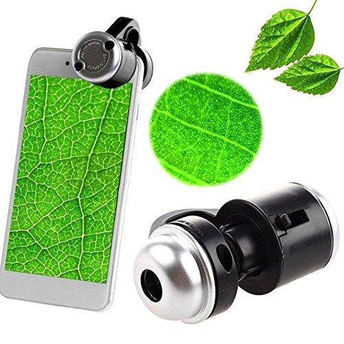 ZREAL 30X Zoom-Handy-Teleskop-Kamera LED-Mikroskop-Objektiv für iPhone Samsung - Handy-mikroskop