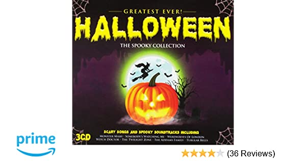 3e8b143b2 Greatest Ever Halloween  The Definitive Collection  Amazon.co.uk  Music
