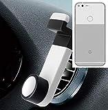 Smartphone Halterung Autohalterung Lüftungshalterung für Google Pixel XL, Weiß | Handy Halter Lüftungsgitter Smartphonehalterung Handyhalterung Air Vent mount - K-S-Trade(TM)
