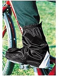 Hock GamAs Joven Polainas Bicicleta, Negro, M