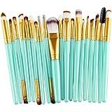 Internet 20 pièces Set de pinceau de maquillage professionnel Fondation outils Cosmetic Toiletry ...