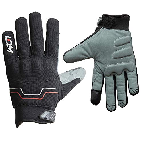 LDM Avent-X Guantes Motos Invierno Impermeables Negros