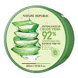 #7: (3 Pack) NATURE REPUBLIC Aloe Vera 92% Soothing Gel