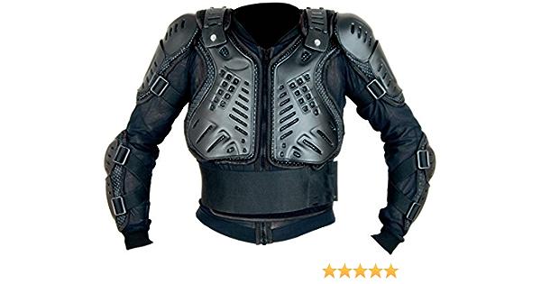 Xtrm Kinder Motorrad Enduro Off Road Körper Rüstung Jacke Schutzweste 6 Bis 14 Mehrere Farben Schwarz 4 Sport Freizeit