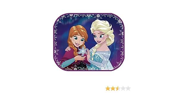 Arditex Disney Princess Set 2 Rideaux Pare-Soleil /à Ventouses Voiture Multicolore WD9682 Poster Mod/èle Frozen 44 x 36 cm
