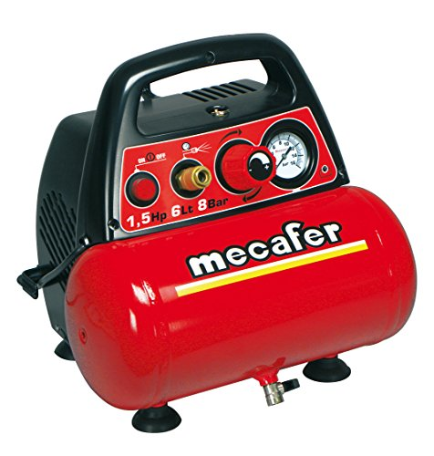 Mecafer 425528 Compresseur 6 L 1,5 hp New vento