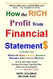 How to Read Financial Statements and Ratio Analysis : A Money Guide on How to Read Accounts for Business Management and Stock Investment