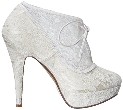 Pleaser, Scarpe col tacco donna Ivory Lace-Satin