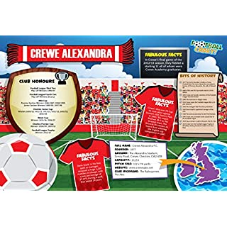 Football Crazy Jigsaws! 400-Piece Football Club Puzzles - 122 Different Teams To Choose From! (Crewe Alexandra)