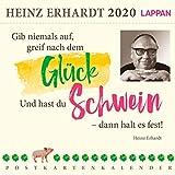Gib niemals auf, greif nach dem Glück 2020 - Ein Heinz Erhardt-Postkartenkalender: Heinz Erhardt Postkartenkalender - Heinz Erhardt