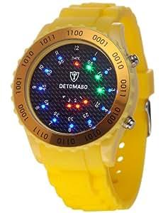 DETOMASO Unisex-Armbanduhr Digital Quarz DT2015-F