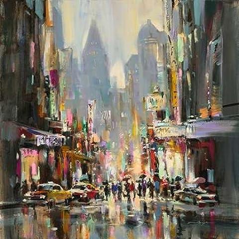 City Street Sensation by Heighton, Brent–stampa fine
