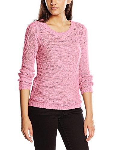 ONLY Damen Onlgeena XO L/S Pullover KNT Noos, Rosa (Begonia Pink), 34 (Herstellergröße: XS) (Acryl-pan)