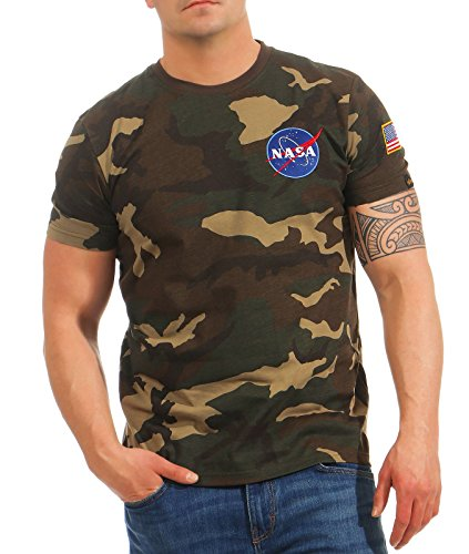 Alpha Industries Space Shuttle T-Shirt Camouflage M
