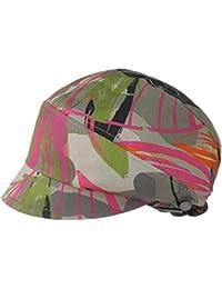 Lierys Armyflowers Stoffmütze Damenmütze Sommermütze Baumwollmütze Mütze Stoffhaube für Damen Baumwollcap Sommercap mit Schirm Frühjahr Sommer