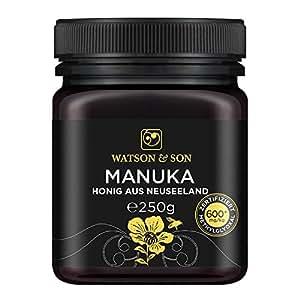 Watson & Son Manuka-Honig MGO 600+, 1er Pack (1 x 250 g)