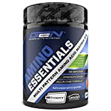 Amino Essentials Pulver 507 g - All-in-one Post Workout Recovery Shake mit Aminosäuren - EAA + BCAA + Creatin Creapure + Beta Alanin Carnosyn + Glutamin + Taurin - Waldfruchtgeschmack - Vegan