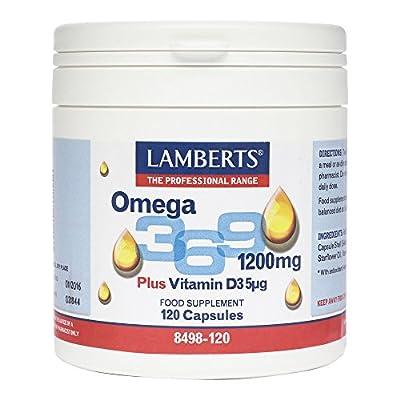 Lamberts Omega 3,6,9 QTY 120 Capsules