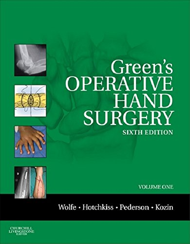 Green's Operative Hand Surgery,  Sixth Edition (Greens Operative Hand Surgery)