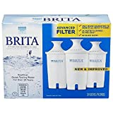 6 Pack : Brita Water Filter Pitcher Replacement Filters, 6 Pack