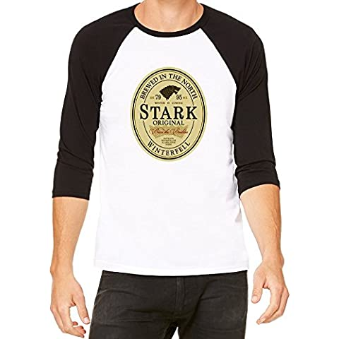 Stark Original Beer Label Baseball Jersey