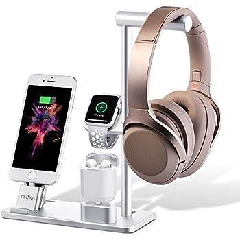 TYCKA Aluminum 3 en 1 Support de Charge pour Apple, Station de Recharge pour Apple Watch