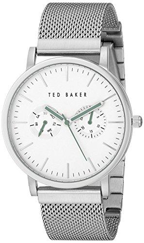 Ted Baker TE3037 Montre Bracelet Homme Acier Inoxydable Argent