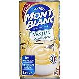 mont blanc Crème dessert à la vanille, nouvelle recette, - ( Prix Unitaire ) - Envoi Rapide Et...