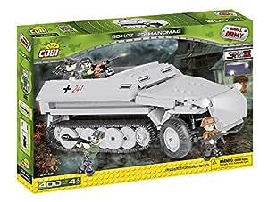 Cobi - 2442 - Jeu de Construction - SD KFZ 251 Hanomag, Gris/Noir