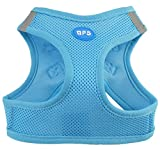 BPS® Hundegeschirr für Hunde, Haustiere, für kleine, mittelgroße und große Hunde, blau, Small