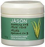 La crème Aloe Vera de Jason Natural cosmetics est enrichie en vitamine E, elle nourrit et hydrate la peau en profondeur. Elle contient également des vitamines A, B et C, des huiles nourrissantes d'amande douce, d'avocat et de tournesol et du son de r...