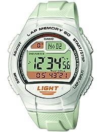Casio CASIO Collection Men - Reloj digital de caballero de cuarzo con correa de resina blanca