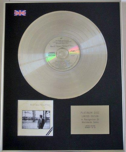 DAVID SYLVIAN-Limited Edition CD platino, brillanti, motivo