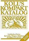 Koll's Kompaktkatalog Märklin 00/H0 2018: Liebhaberpreise für Loks, Wagen, Zubehör