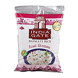 India Gate Basmati Rice - Rozana, 1kg Bag